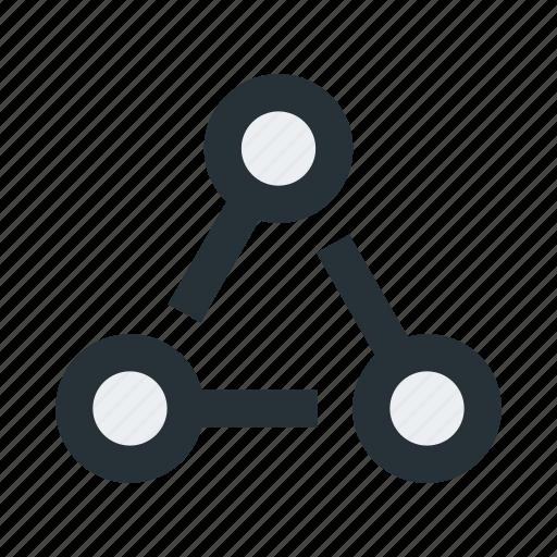 abstract, figure, geometric, mark, shape, sign icon