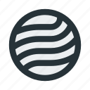 abstract, circle, figure, lines, mark, sign, wave icon