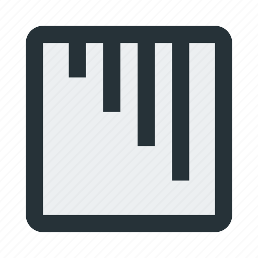 abstract, figure, lines, mark, shape, sign, square icon