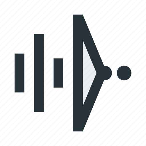 abstract, dots, figure, lines, triangle, wave icon
