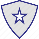 shape, shield, special, triangle icon