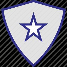 shape, shield, special, triangle icon