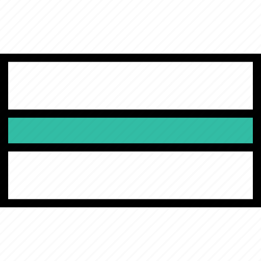 abstract, design, line, recatangle icon