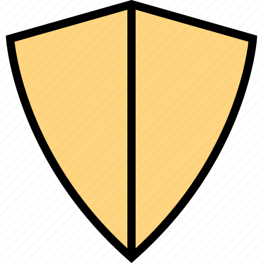 abstract, design, safe, shield icon