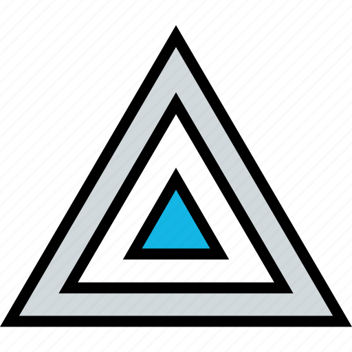 abstract, design, triangle, zelda icon