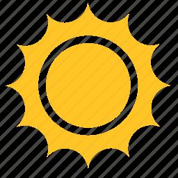 abstract, flower, sun, sunlight, sunny, sunrise, sunset icon