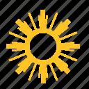 abstract, flower, sun, sunlight, sunrise, sunset, sunny