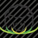 animal, logo, sheep icon