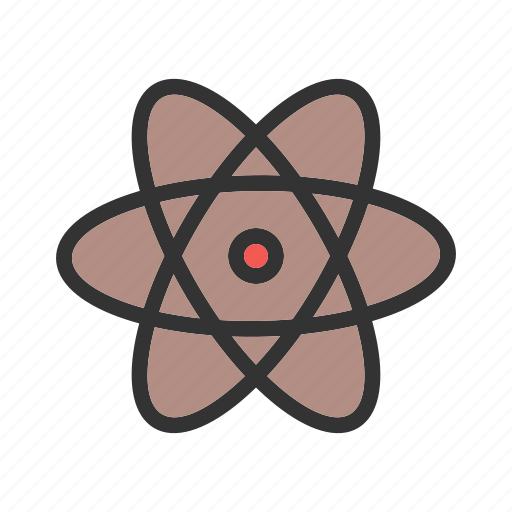 atom, biology, chemistry, laboratory, molecular structure, molecule, science icon