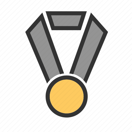 award, badge, first position, medal, medallion, trophy, win icon