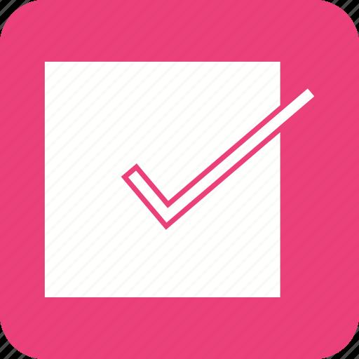 accept, check, check mark, checklist, correct, done, valid icon