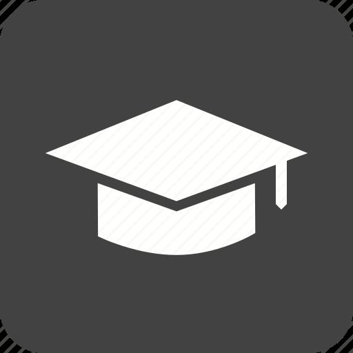 cap, ceremony, diploma, graduate, graduation, professor, students icon