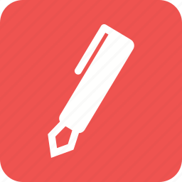 ball point, equipment, fountain pen, pen, scribble, tool, write icon