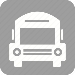 automobile, deliver, drive, schol bus, transportation, van, vehicle icon