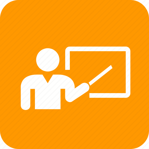 Educator, lecturer, meeting, presenter, professor, school teacher, tutor icon - Download on Iconfinder