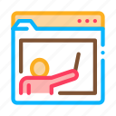 academy, educational, folder, personal, student icon