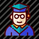 academy, diploma, education, study, university