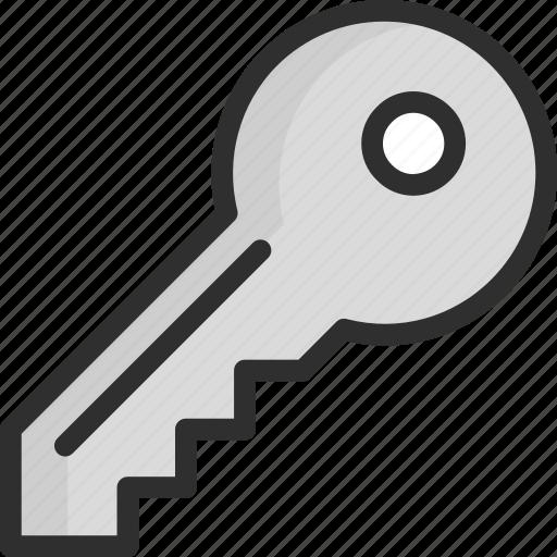 access, enter, key, login, password icon