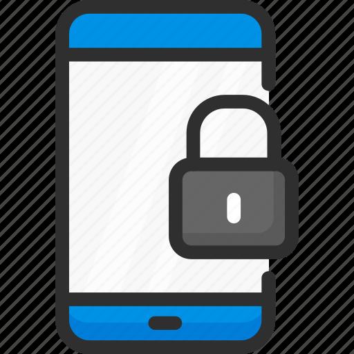 access, enter, lock, login, mobile, password, phone icon