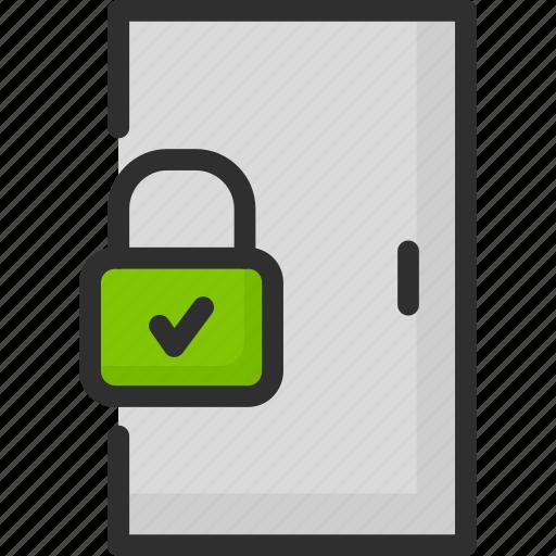 Access, door, enter, lock, login, padlock, password icon - Download on Iconfinder