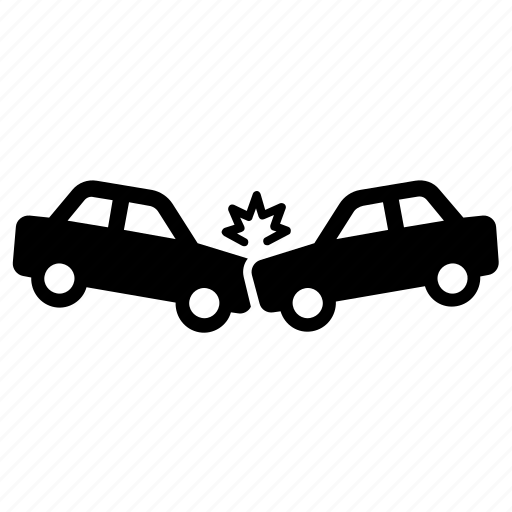 accident, car, crash, damage icon