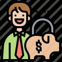 financial, individual, manage, money, saving