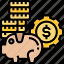 cash, funds, money, saving, bank