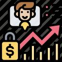 individual, financial, chart, market, trading