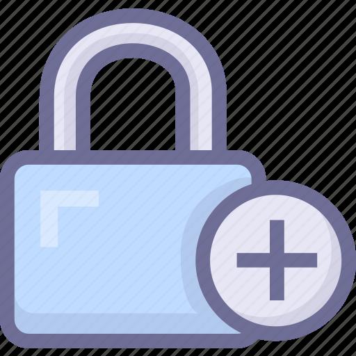 add password, create password, generate password, lock icon