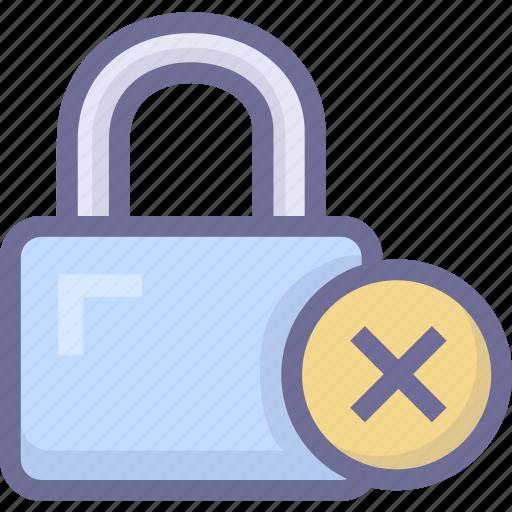 lock, password, password error, security icon