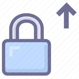 account security, lock, safety icon