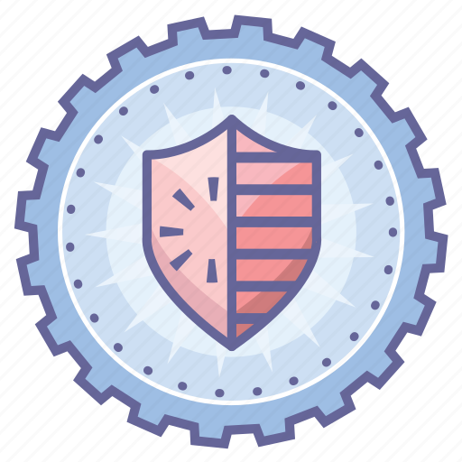 achievement, award, badge, security, shield, star, wreath icon