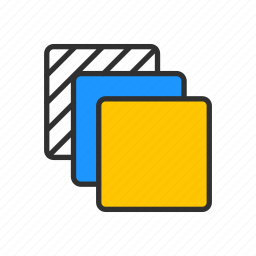 artboards, duplicate, layer, squares icon