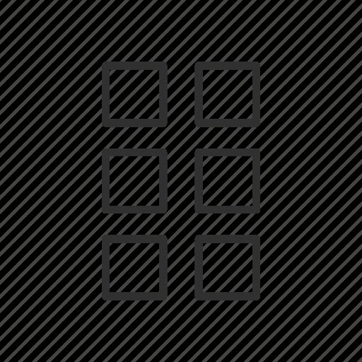 box, setting, shapes, windows icon