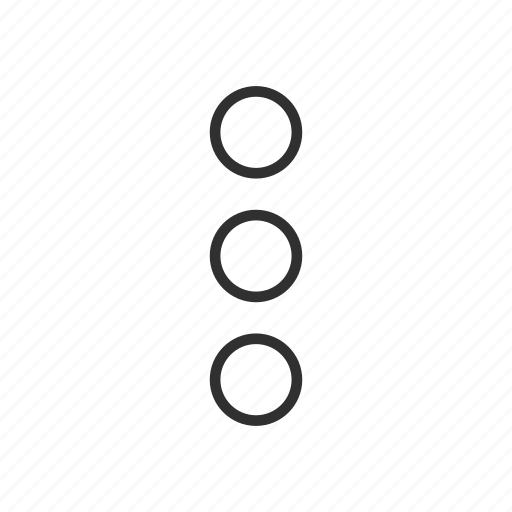 circles, notification, setting, shapes icon