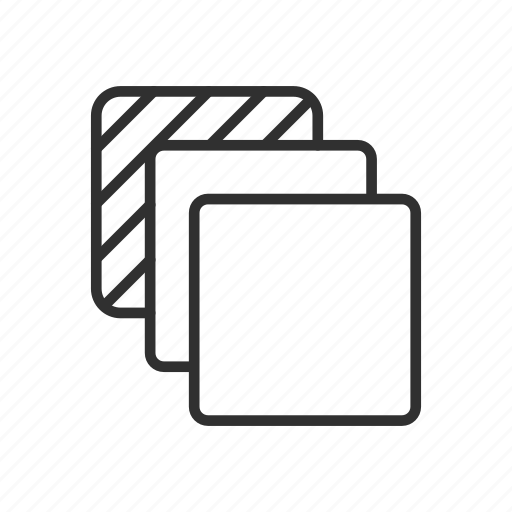artboards, duplicate, layer, square icon