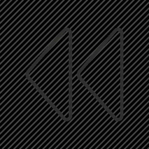 arrow left, arrows, repeat, replay icon