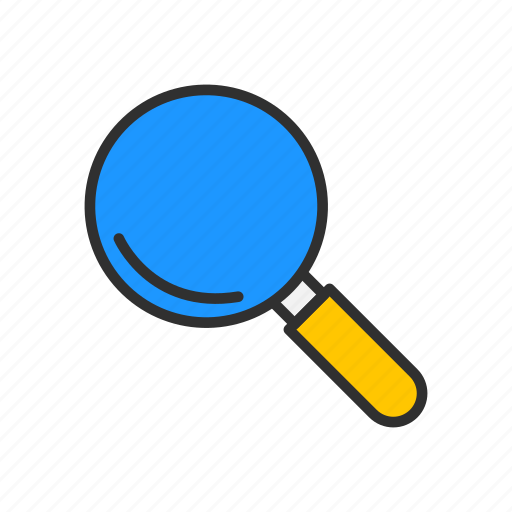 browse, magnifying glass, zoom, zoom in icon