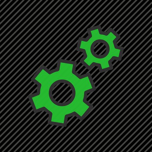 edit tool bar, menu, notifications, settings icon