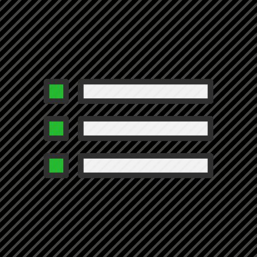 board, checklist, lines, list icon