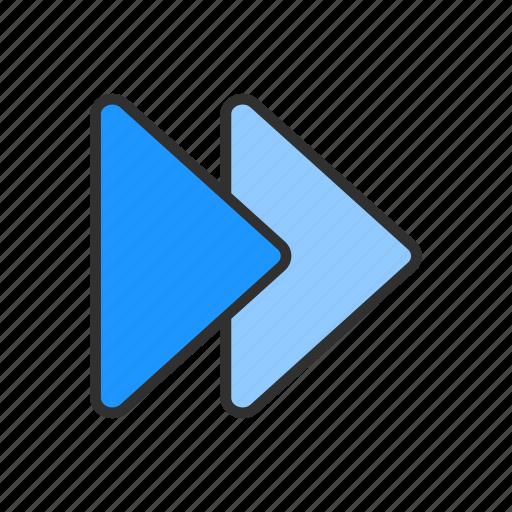 direction, forward, next button, pointer icon
