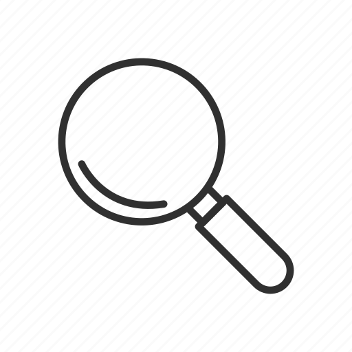 magnify, magnifying glass, search, zoom icon