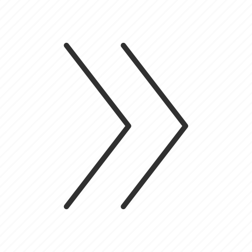 arrow, forward, move, next icon