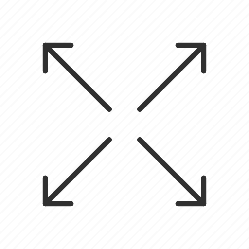 arrows, direction, move tool, navigate icon