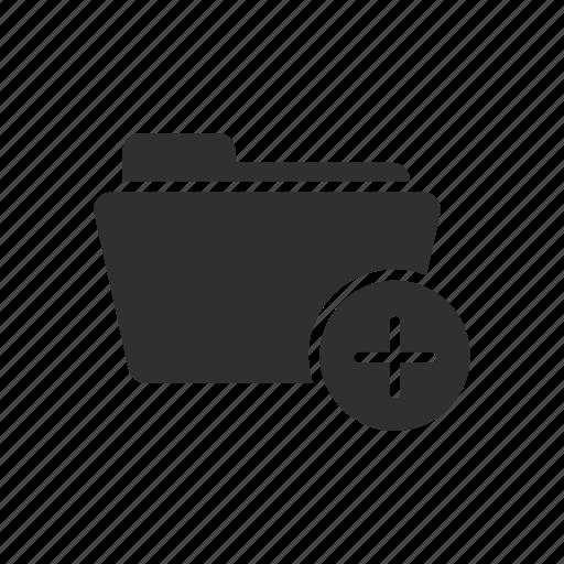 add files, add folder, files, folder icon