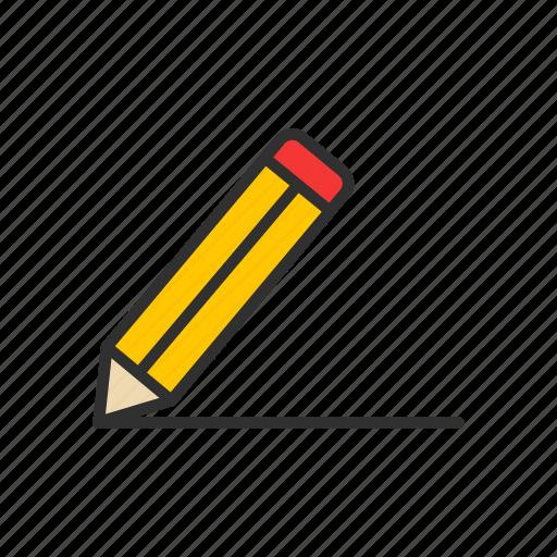 create, draw, pencil, write icon