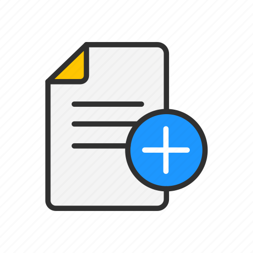 add documents, add file, documents, plus icon