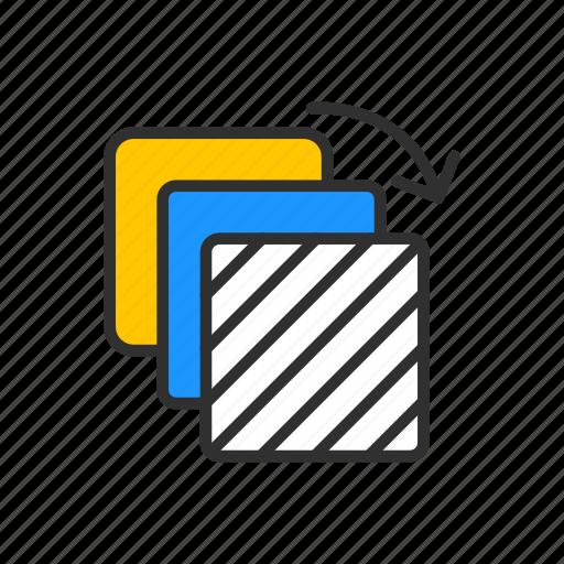 artboard, file, square, transfer file icon