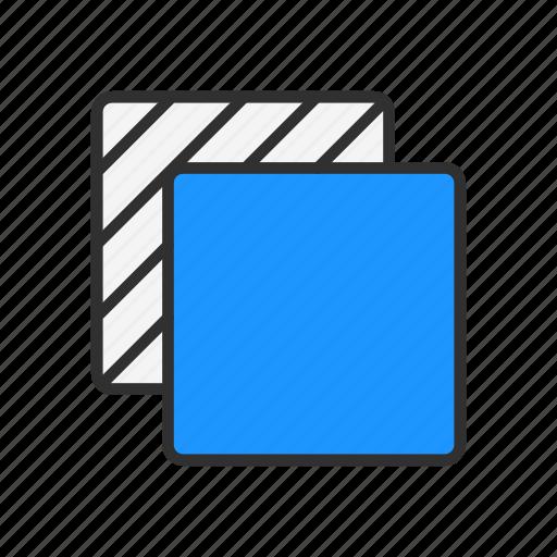 duplicate file, file, move file, square icon
