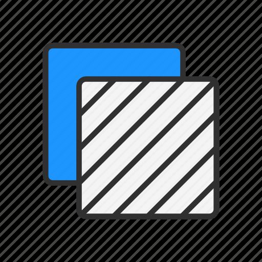 artboard tool, duplicate file, layer, squares icon